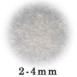 Loose White Beads 2-4mm