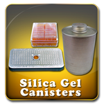 Dry-Packs Silica Gel Desiccant Canisters